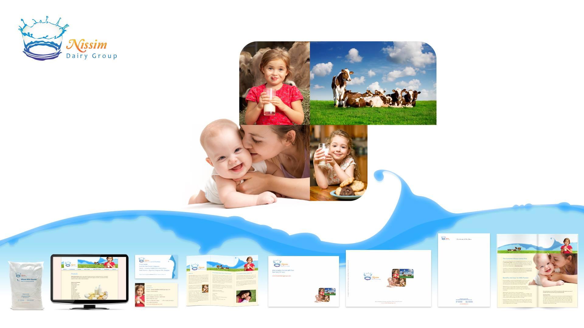 מיתוג עסקי - Nissim Dairy Group